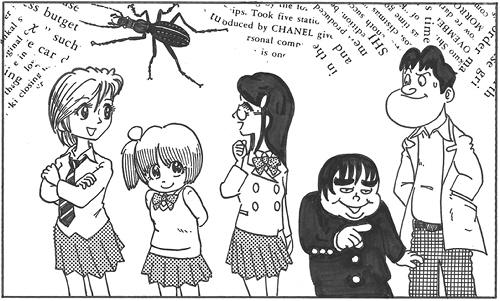 手塚治虫先生風画風変更案