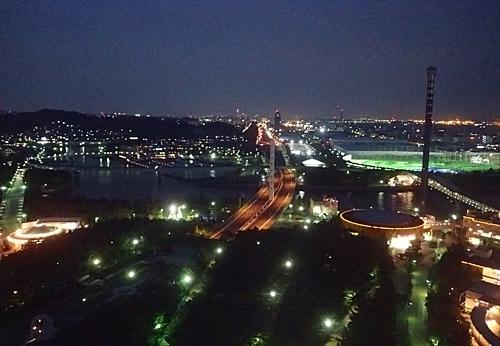 180505 八景島シーパラダイス90 シーパラダイスタワーから夜景2.JPG