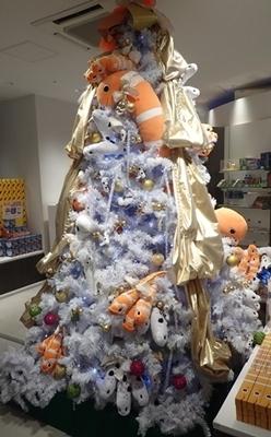 190114 1811すみだ水族館_クリスマスツリー.JPG