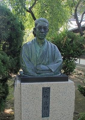190825 小諸市zoo71_懐古園190817 (23)島崎藤村.JPG