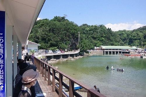200922 下田海中水族館51_0814p (329)イルカふれあい体験(来ない).JPG