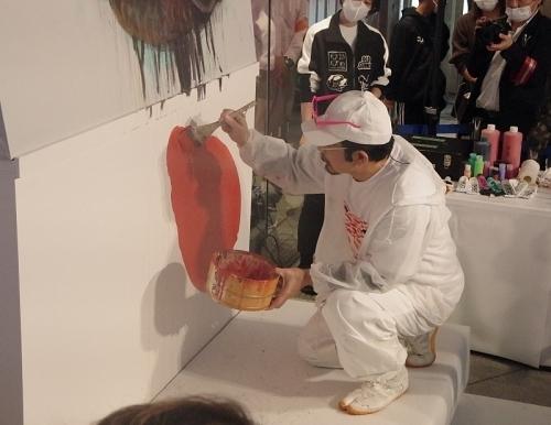 201101金魚愛四季52_1018p (24)ライブペインティング.JPG