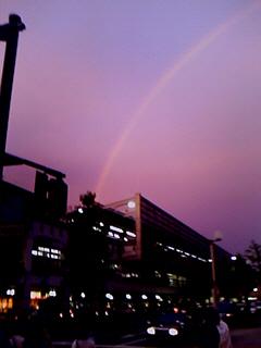 070906 京都駅と虹