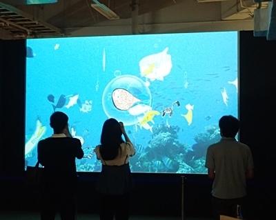160715 海のハンター展 (17)泳げ!マイハンター.JPG