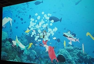 160715 海のハンター展 (18)泳げ!マイハンター.JPG