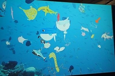 160715 海のハンター展 (19)泳げ!マイハンター.JPG