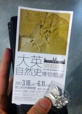 1703大英自然史博物館展_01切符バッヂ.JPG