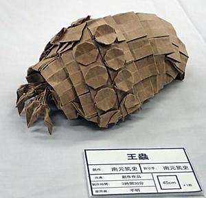 190519 東大五月祭0518_ (19)折紙_王蟲.JPG