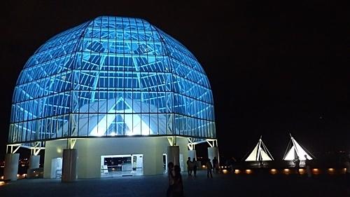 190812夏コミ&かさりん00_夜かさりん (88)ガラスドーム.JPG